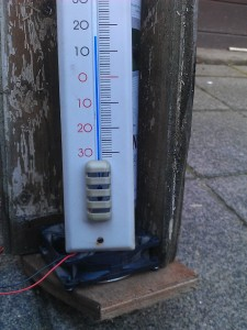 Ingangs temperatuur