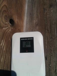 Uitkomende temperatuur